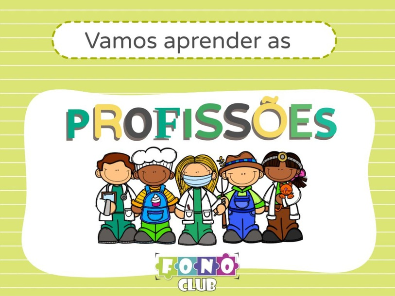 Vamos aprender as profissões by Ana Carolina Povoa