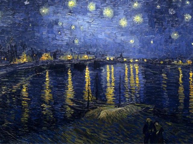 Van Gogh by uri lazar