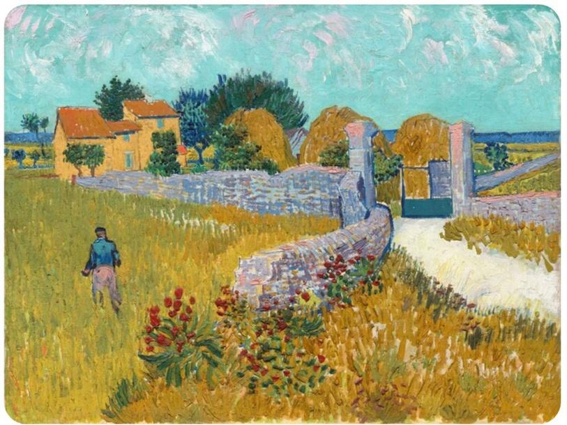 Van Gogh - woorden plakken by Maartje Huang