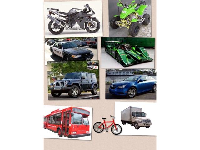Vehicles by Barbi Bujtas