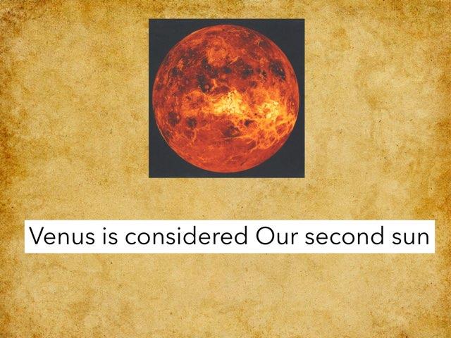 Venus by Student Spence