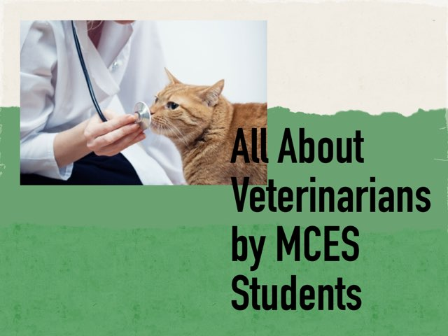 Veterinarians by MCES Students by Christine Snow