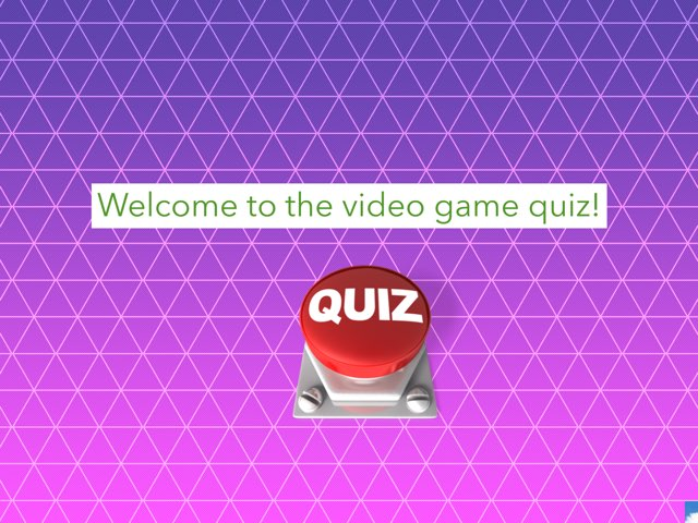 Video Game Quiz! by Nathan Rumsey