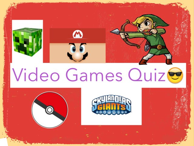 Video Game Quiz by Mohammad isha