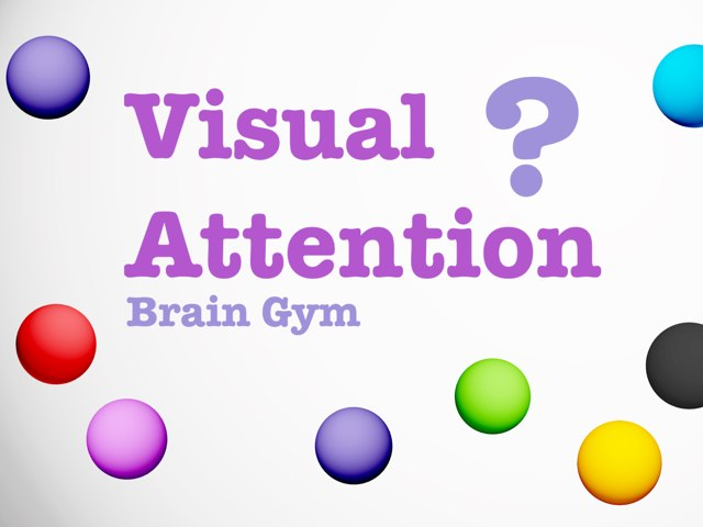 Visual Attention by Yogev Shelly