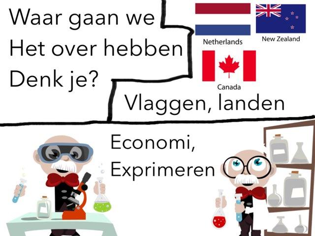 Vlaggen Of Economi? by Cheryn joustra