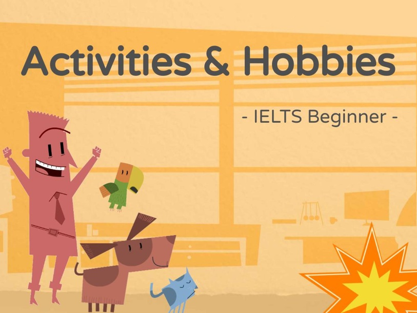 Vocabulary - Activities and Hobbies by NgocAnh
