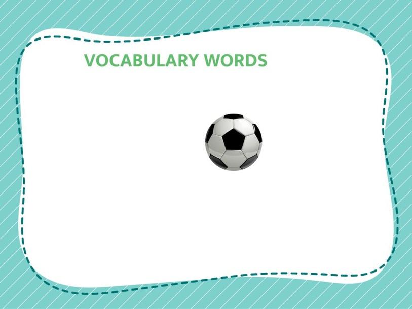 Vocabulary words  by Geugani Esteves
