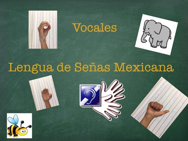 Vocales En LSM by Pao Mancera