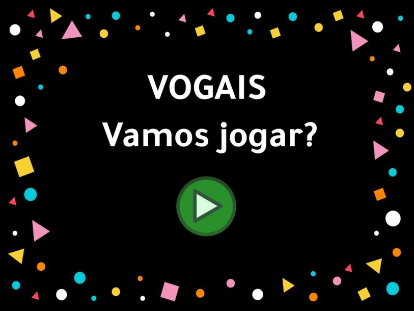 Vogais e Figuras by Larissa Morais