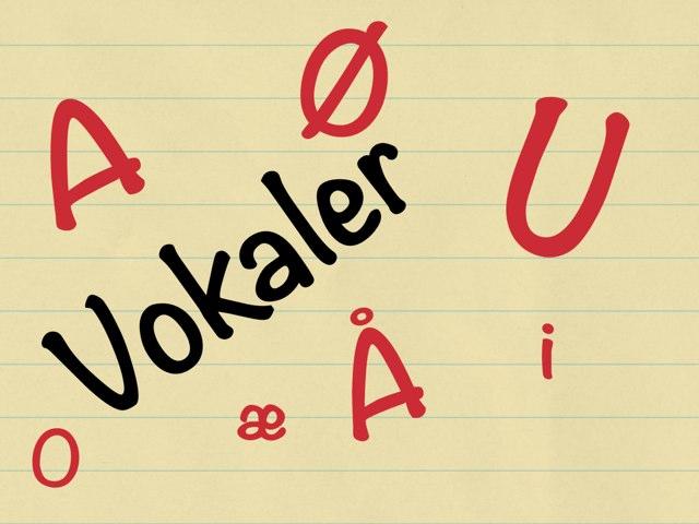Vokaler by Peter Johansen
