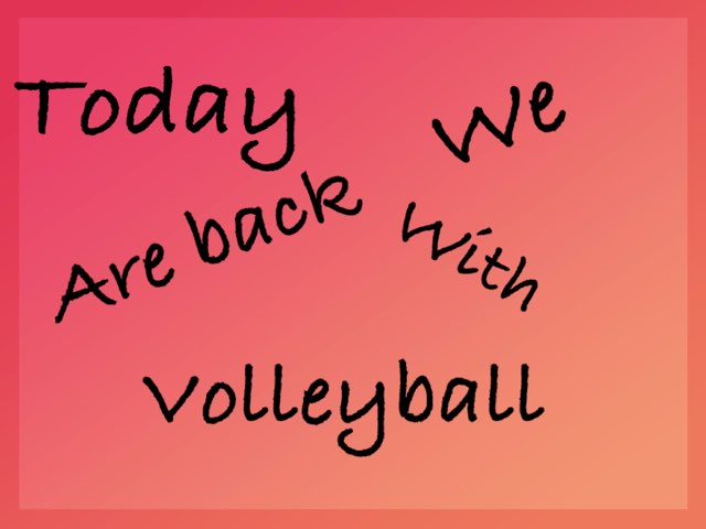 Volleyball Preposition by Churro Chavez