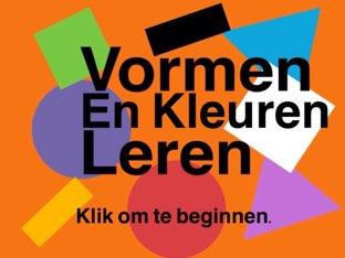 Vormen En Kleuren Leren by Ted van Buuren