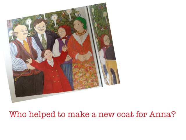 WHO HELPED ANNA? by TMTH TMTH