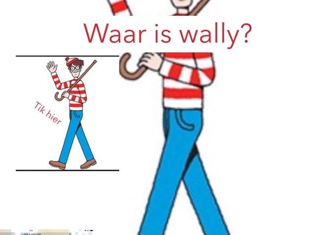 Waar Is Wally? by Jenny hutty