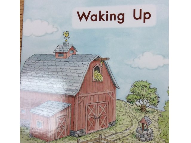 Waking Up: Sight Words LLI Green Book 1 by Chanel Sanchez
