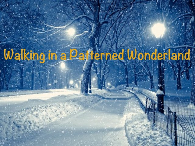 Walking In A Patterned Wonderland by Dianne Bacsik