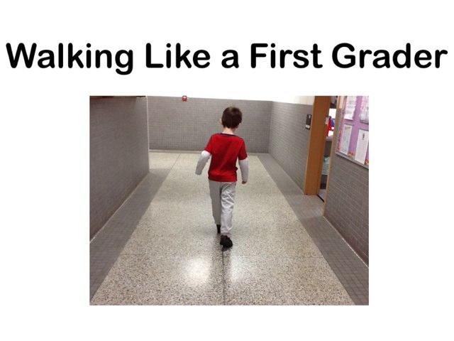 Walking In The Hallway by Bethany Hentgen