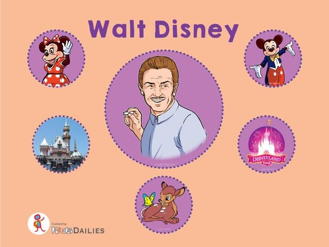 Walt Disney by Kids Dailies