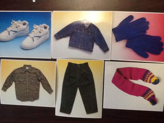 Warm Clothes by Wendy Hazelwonder