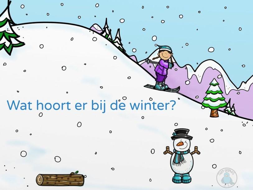 Wat hoort bij de winter? by Gonny Boerman