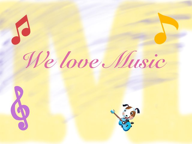 We Love Music by Santiago Cano
