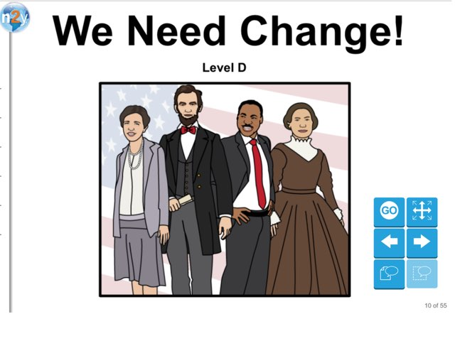 We Need Change by Federica Carulli