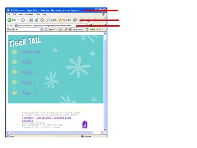 Web Page Parts by Linda Lonergan