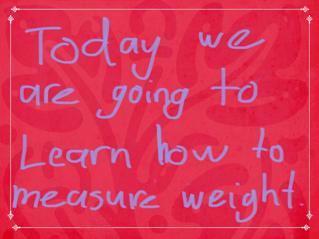 Weight by Renee Richards