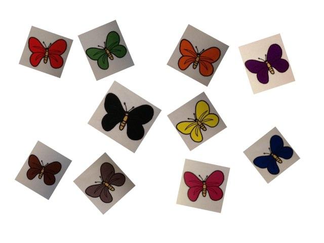 Welke Kleur Heeft De Vlinder? by Inge Sta