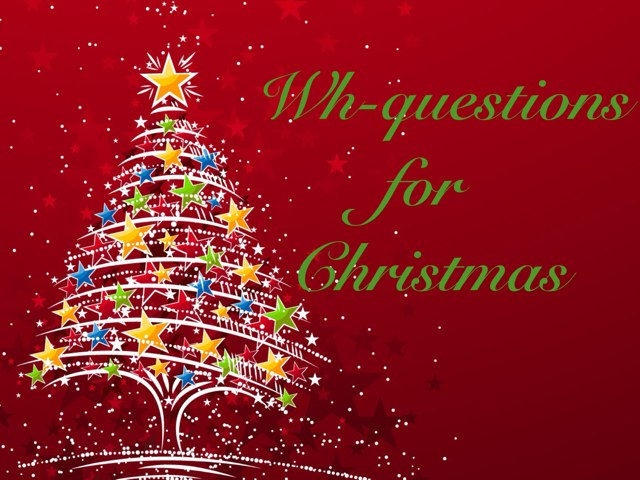 Wh-Questions For Christmas  by Carolyn Mulbach