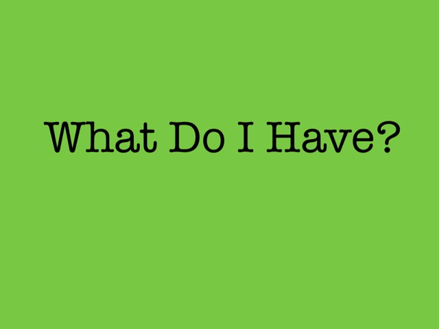 What, And by Angeline Peck