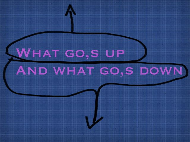 What Go,s Up And What Go,s Down  by Emilie Melnyk
