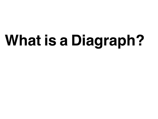 What Is A Diagraph? by Jolene johnson