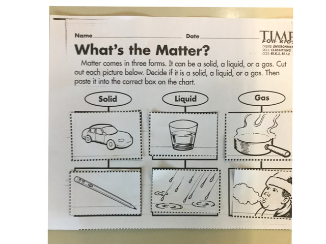 What Is Matter? by Ashley Houser