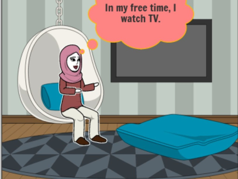 What do you do in your free time? by maysan khalil