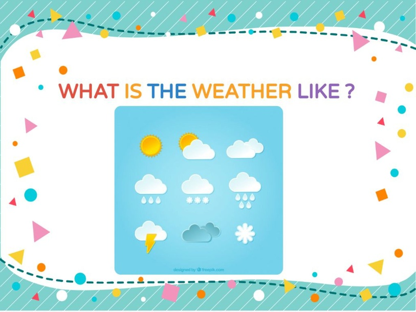 What is the weather like ? by Zeze Hellaç