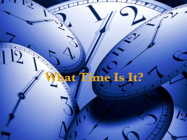 What's The Time In English? by English Time