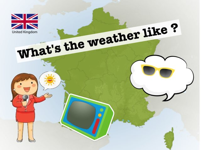 What's The Weather Like ? by Seve Haudebourg