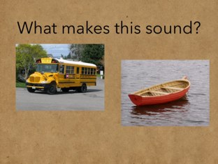 What's This Sound? by DeVere Bunke