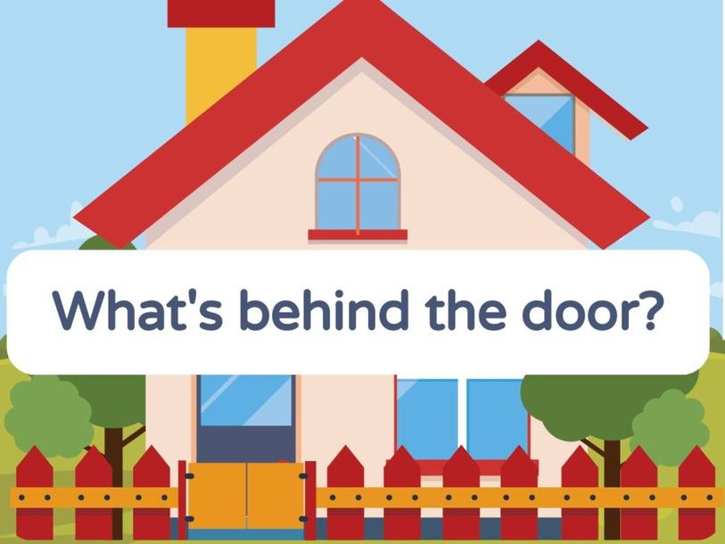What's behind the door? by Mayara Silveira