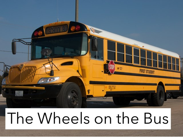 Wheels On The bus Song board  by Kristin Meadows