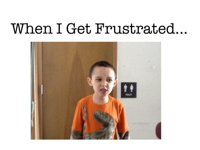 When I Get Frustrated... by Bethany Hentgen