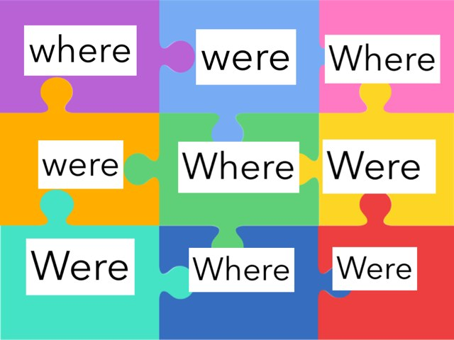 Where And Were by Vanessa Bowne
