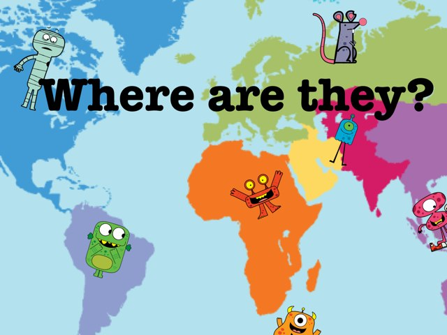 Where Are They? by Ascension Kindergarten