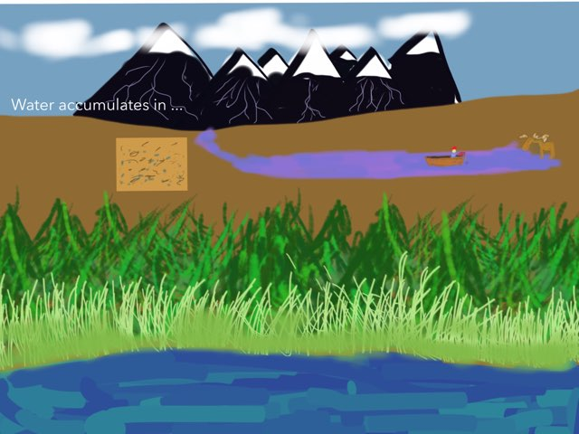 Where Does Water Accumulate? by Brad levenhagen