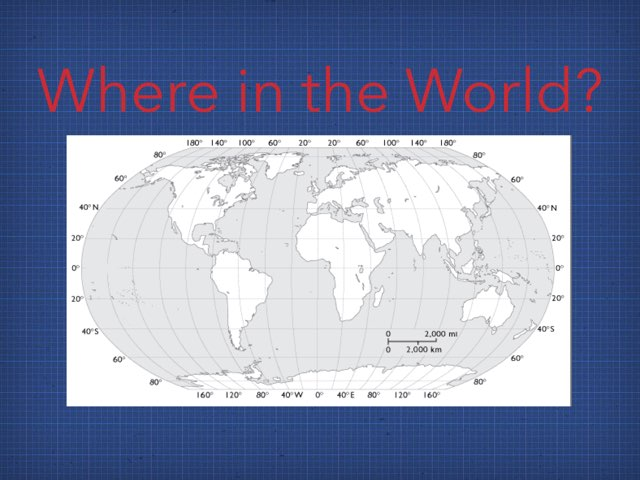 Where In The World by Claudia Reno