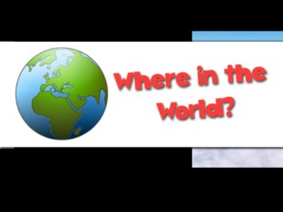 Where In The World? by Jen Mccabe