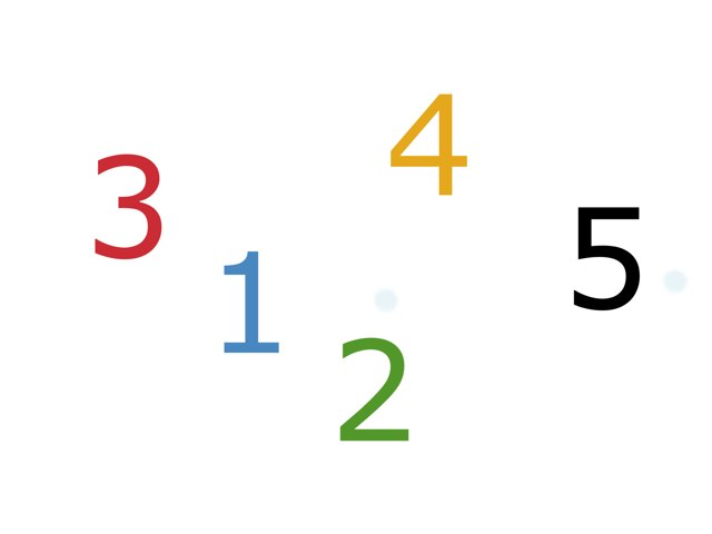 Where Is The Number? 1-5 by Hannah Worrell