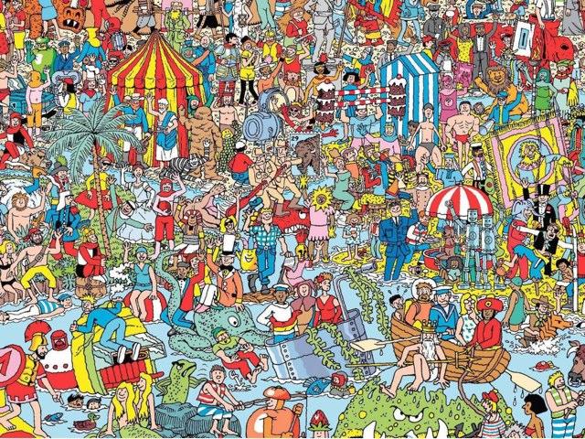 Where Is Waldo? by Amélie Silvert
